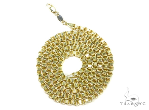 10K Gold Rolo Chain 22 Inches 3mm 8.5 Grams Gold