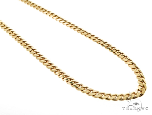10K Miami Cuban Gold Chain 30 Inches  6mm 71.2 Grams 45524 Gold