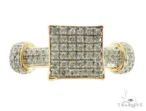 10K YG Prong Diamond Wedding Rings Set 56979 Engagement