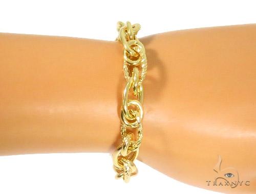 10K Yellow Gold Bracelet 44349 Gold