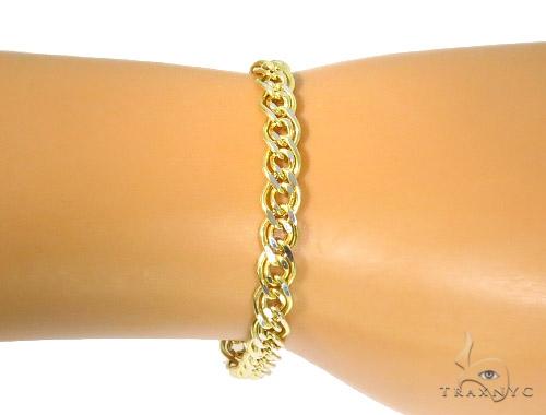 10K Yellow Gold Bracelet 44358 Gold