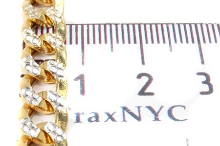 10K Yellow Gold Diamond Cut Cuban Chain 24 Inches 6.5mm 16.2 Grams Gold