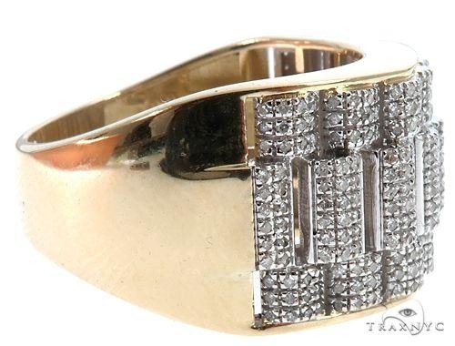 10K Yellow Gold Diamond Ring 64781 Stone
