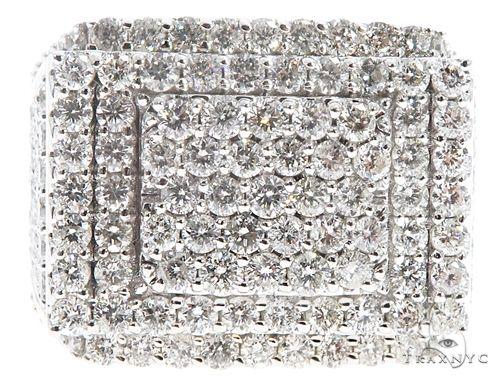 10K Yellow Gold Diamond Ring 64782 Stone