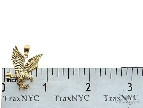 10K Yellow Gold Eagle Pendant 65811 Metal