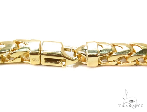 10K Yellow Gold Heavy Franco Chain 40 Inches 6mm 236.7 Gold