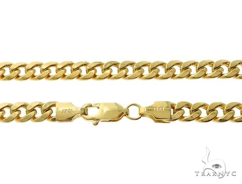 TraxNYC's Best Buy Cuban Link Chain 30 Inches 5mm 14.5 Grams Gold