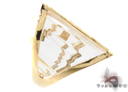 10K Yellow Gold ID Ring 33310 Anniversary/Fashion