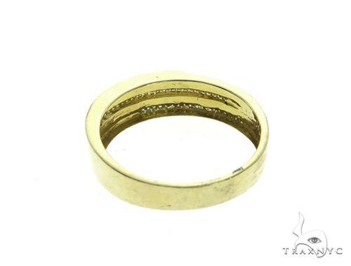 10K Yellow Gold Micro Pave Diamond Ring 63647 Stone