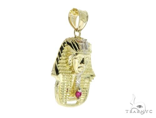 10K Gold Small Pharaoh Pendant 56879 Metal