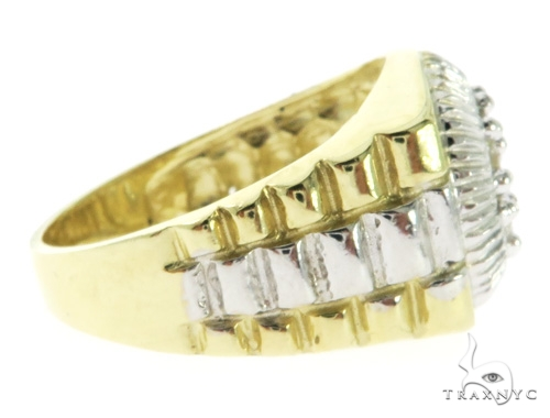 10K Yellow Gold Watch Band 57414 Metal