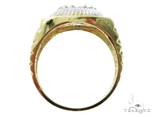 10K Yellow Gold Watch Band 57414 Metal