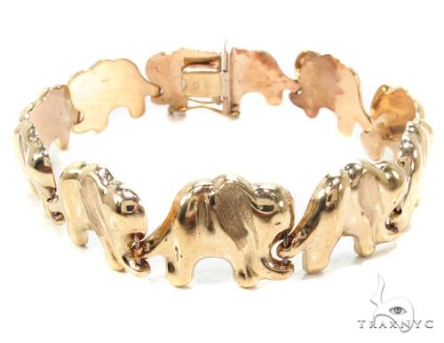 10k Gold Bracelet 36424 Gold