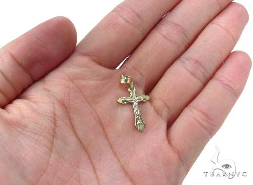 10k Gold Cross Crucifix 34872 Gold