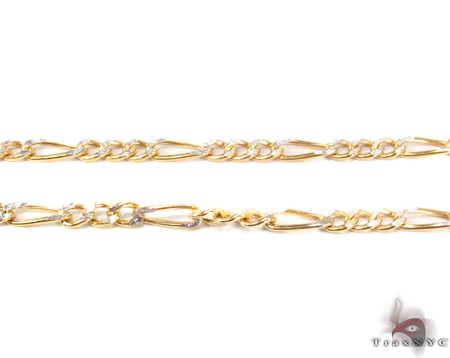 10k Gold Diamond Cut Chain 24 Inches 2mm 2.80 Grams Gold