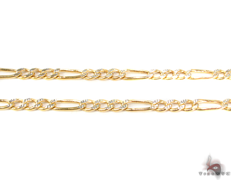 10k Gold Diamond Cut Chain 24 Inches 4mm 6.90 Grams Gold