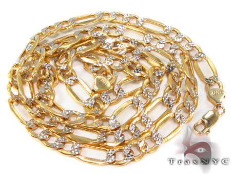 10k Gold Diamond Cut Chain 26 Inches 5mm 10.29 Grams Gold