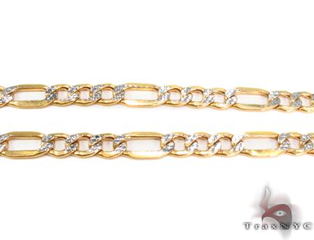 10k Gold Diamond Cut Chain 26 Inches 7mm 15.37 Grams Gold