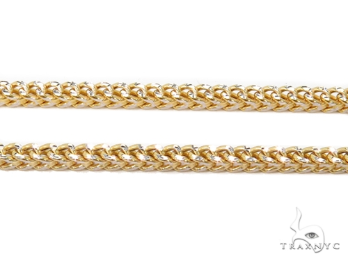 10k Gold Franco Chain 22 Inches 2mm 7.20 Grams 40978 Gold