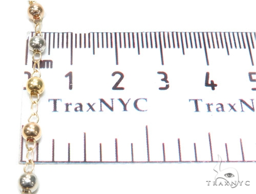 10k Gold Rosary Chain 28 Inches 4mm 11.6 Grams 42317 Gold