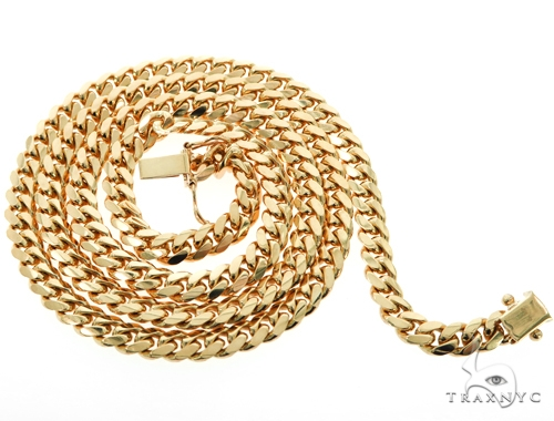 10k Miami Cuban Gold Chain 28 Inches 6mm 66.8 Grams 45526 Gold