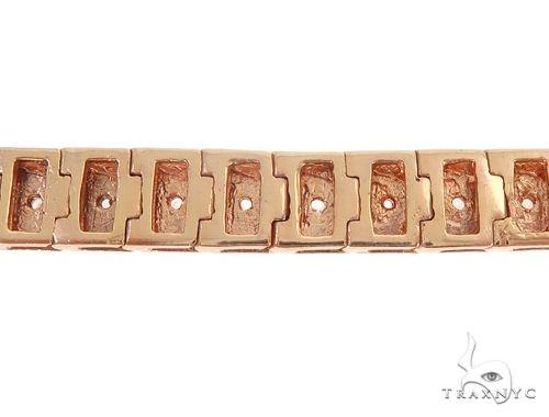 10k RG 7.5mm Diamond Tennis Bracelet 64876 Diamond