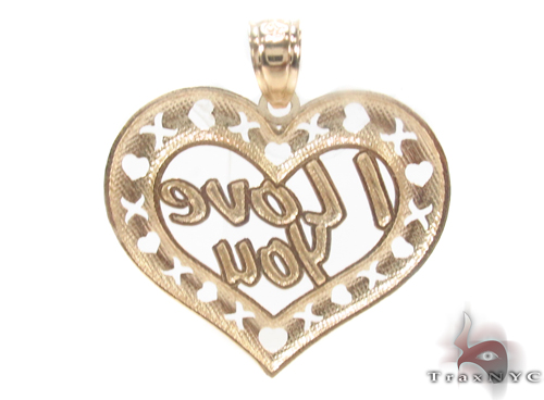 10k Two Tone Gold Charm 34278 Metal