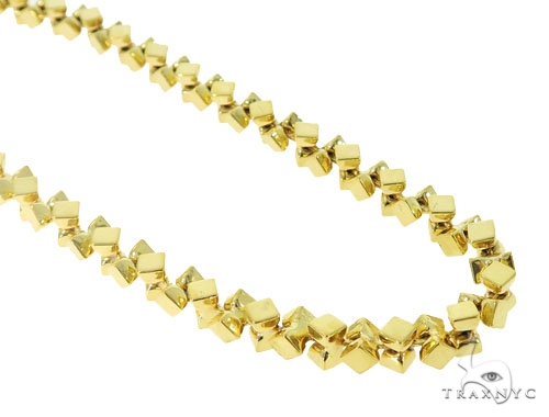 10k Yellow Gold Chain 30 Inches 6mm 54.9 Grams 56400 Gold