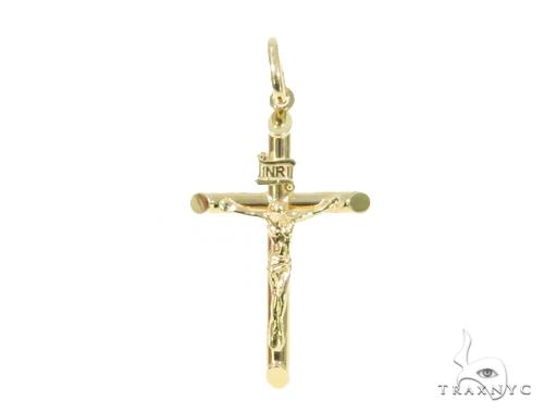 10k Yellow Gold Cross 44398 Gold