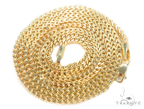 10k Yellow Gold Franco Chain 26 Inches 2mm 6.9 Grams 44235 Gold