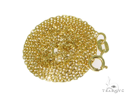 10k Yellow Gold Necklace 41014 Gold