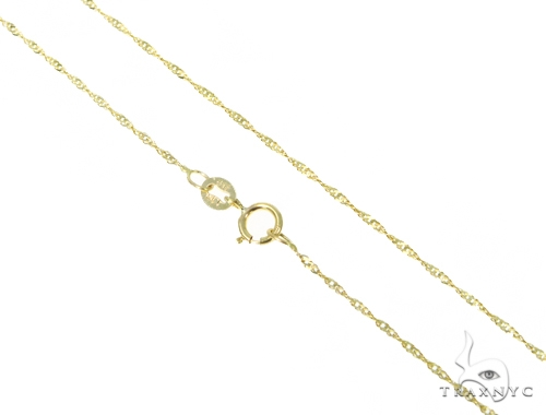 10k Yellow Gold Necklace 44836 Gold