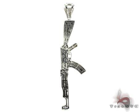 Custom Jewelry - AK-47 Pendant Metal