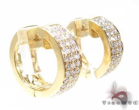 YG Uniqua Hoops Stone