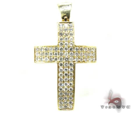 YG Florence Cross 2 Diamond