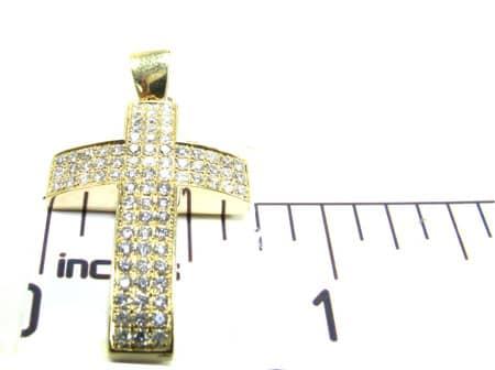 YG Florence Cross 2 Diamond