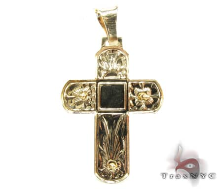 The Crucifix Cross Gold