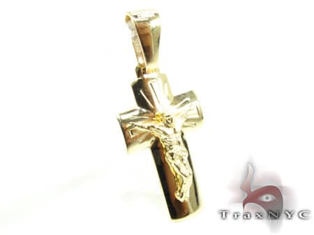 Holy Jesus Cross Crucifix Gold