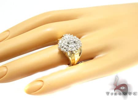 Ladies Crystal Ring Anniversary/Fashion