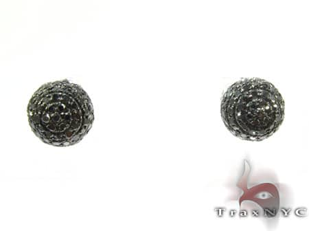 Black Berry Studs Stone