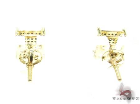 Black Diamond Earrings  2 Stone