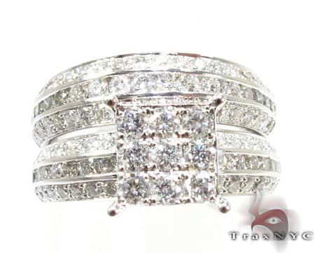 WG Irene Wedding Ring Set Engagement