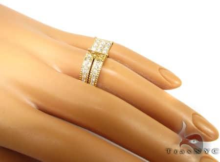 YG Ava Wedding Ring Set Engagement
