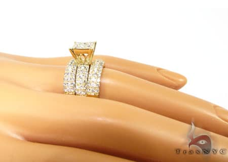 YG Hannah Wedding Ring Set Engagement