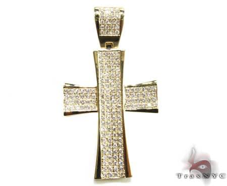 YG 4 Row San Paulo Cross 11347 Diamond