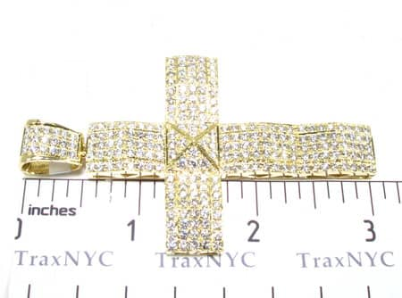 YG 5 Row Jakarta Cross Diamond