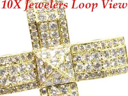 YG 4 Row Jakarta Cross Diamond