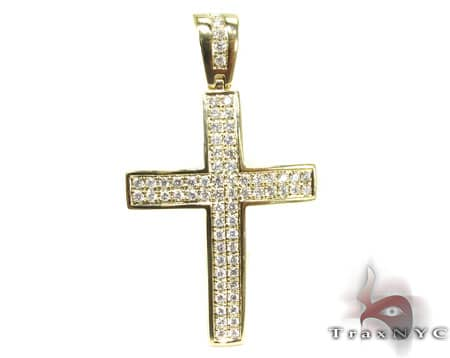 YG Manolo Cross Crucifix Diamond