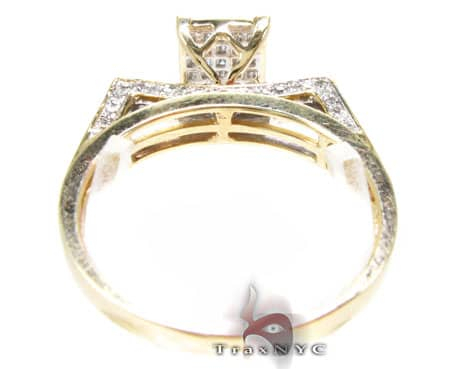 Ladies Edge Ring Engagement