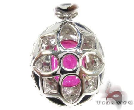 Erica's Ruby & Diamond Pendant Stone